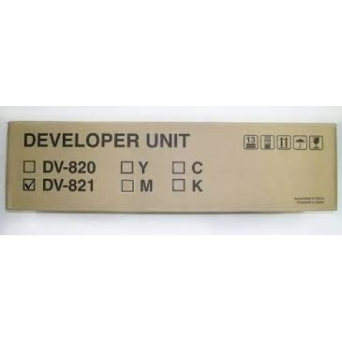 Developer Unit Kyocera DV-821 Cyan