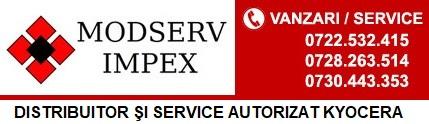 Modserv Impex SRL - Distribuitor autorizat Kyocera - Service autorizat Kyocera
